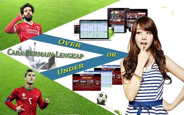 Cara Bermain Over Under Bola Online